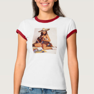 Senorita Pinup Girl T-Shirt