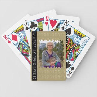 Sensational At 70 Playing Cards