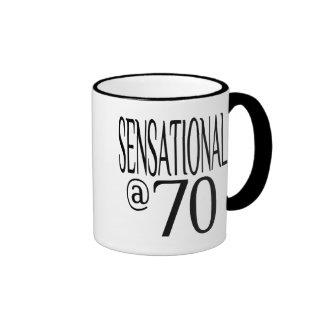 Sensational at Seventy Ringer Mug