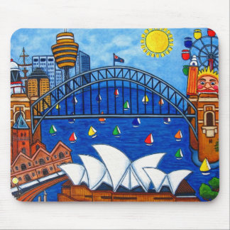 Sensational Sydney-Full Image Mouse Pad
