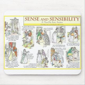 Sense and Sensibility Mouse Mat