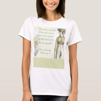 Sense and Sensibility Sister quote T-Shirt