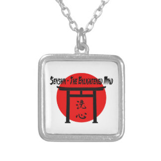 Senshin - The Enlightened Mind Martial Arts Blog Personalized Necklace