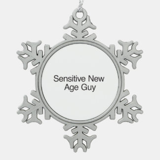 Sensitive New Age Guy ai Ornament