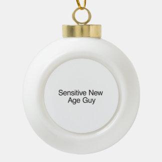Sensitive New Age Guy Ornament