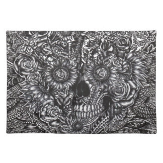 Sensory Overload Skull Placemat