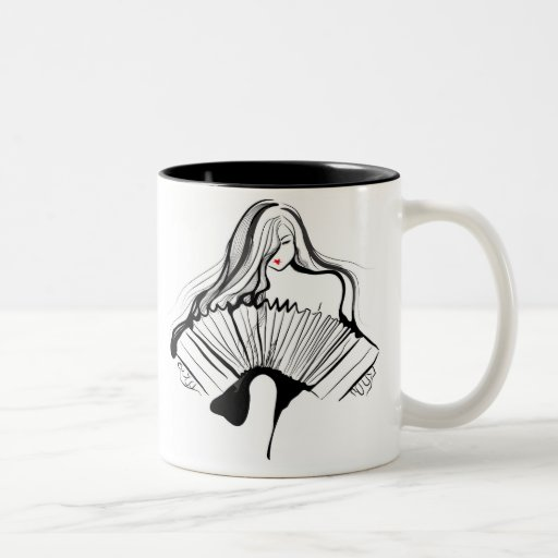 Sensual Bandoneon Coffee Mugs