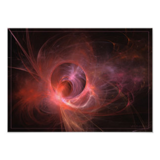 Sensual feeling - fractal art poster