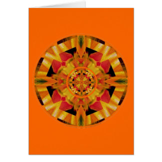 Sensual Glow Sacral Chakra Greeting Card