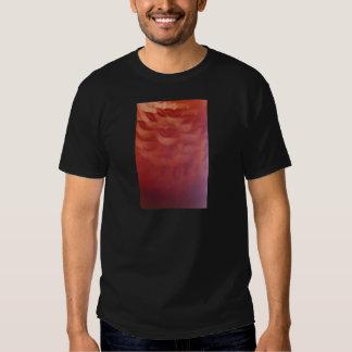 Sensual network lips surrealist analog film print tshirt