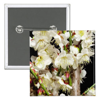 Sensual Romance Valentine's day gifts fun Flowers 15 Cm Square Badge