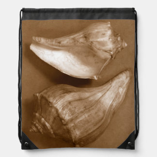 Sensual Shells Drawstring Bag