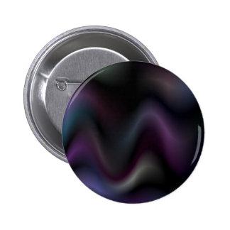 Sensual waves in darkness 6 cm round badge