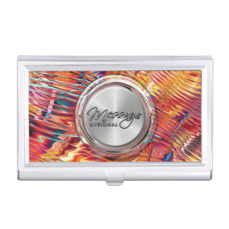 Sensuous 4-6 Image Options Business Card Holder