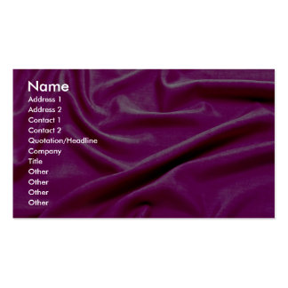 Sensuous pink pack of standard business cards