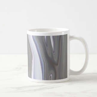 Sensuous Silver Basic White Mug