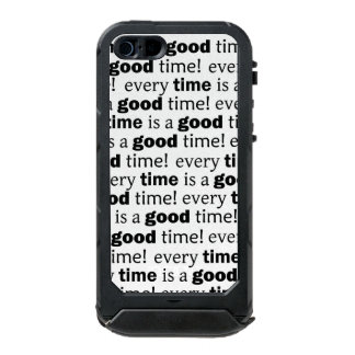 sentence: every time is a good time incipio ATLAS ID™ iPhone 5 case