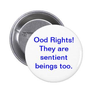 Sentient Ood 6 Cm Round Badge