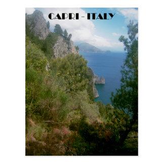 Sentiero dei Cacciatori, Isle of Capri postcard