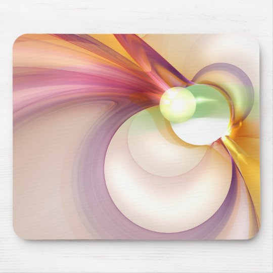 Sentiment of Kenetic Pastels Mouse Mat