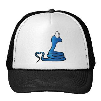 Sentimental Snake Mesh Hat