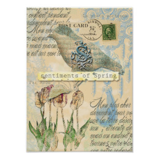 Sentiments of spring Poster