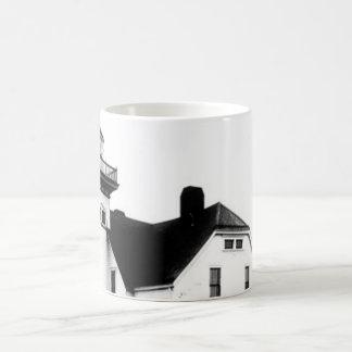 Sentinel Island Lighthouse 2 Basic White Mug