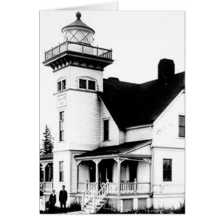 Sentinel Island Lighthouse 2 Greeting Card