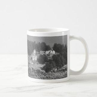 Sentinel Island Lighthouse Basic White Mug