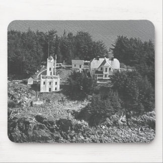 Sentinel Island Lighthouse Mouse Pad