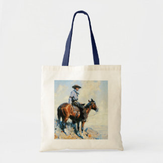 Sentinel of the Plains Budget Tote Bag