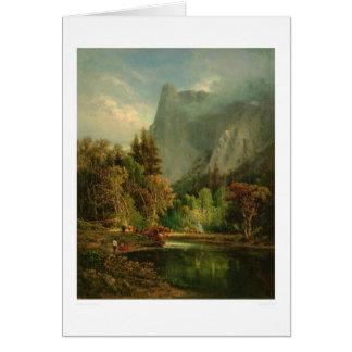 Sentinel Rock, Yosemite, California (0797A) Greeting Card