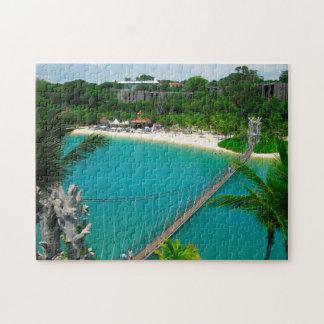Sentosa Beach Singapore. Puzzles