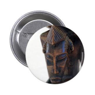 Senufo Tribe 6 Cm Round Badge