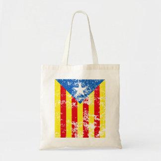 Senyera Estelada Blava Antiga Budget Tote Bag