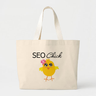 SEO Chick Tote Bags