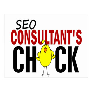 SEO Consultant s Chick Post Cards
