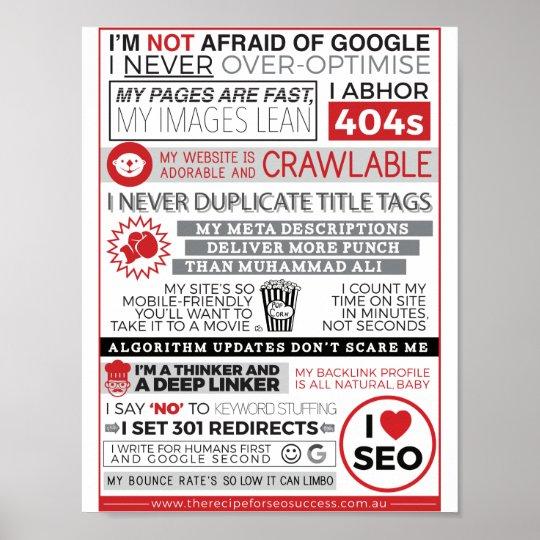 SEO Manifesto Poster