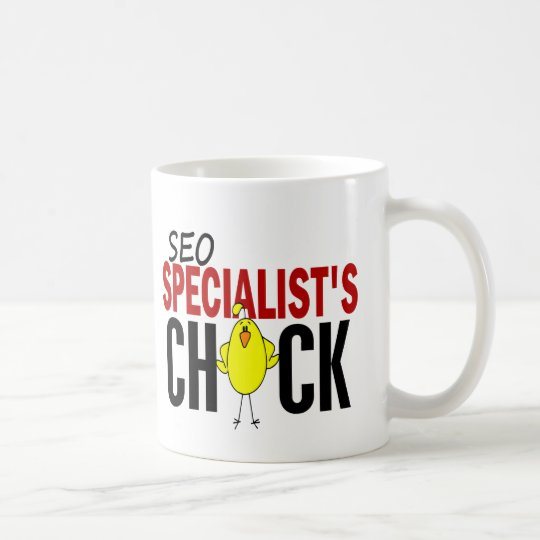 SEO Specialist's Chick Coffee Mug