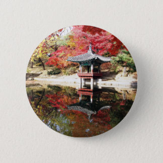 Seoul Autumn Colors 6 Cm Round Badge