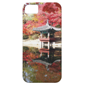 Seoul Autumn Japanese Garden Barely There iPhone 5 Case