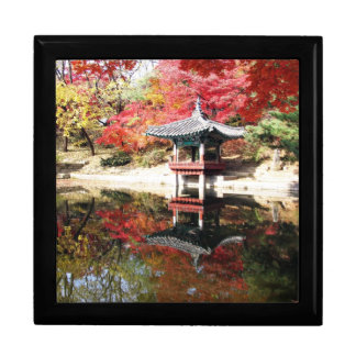 Seoul Autumn Japanese Garden Gift Box