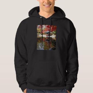 Seoul Autumn Japanese Garden Sweatshirt