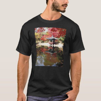 Seoul Autumn Japanese Garden T-Shirt