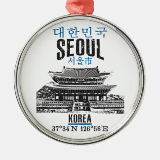 Seoul Christmas Ornament