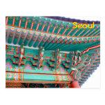 Seoul Eaves Postcard