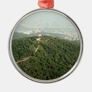 Seoul From Above Photo Christmas Ornament