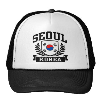 Seoul Korea Mesh Hat