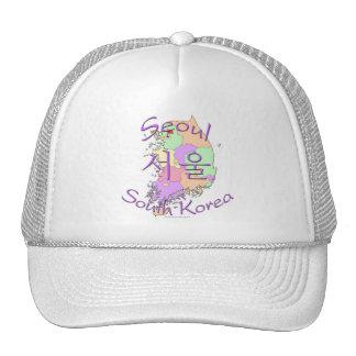 Seoul South Korea Trucker Hats