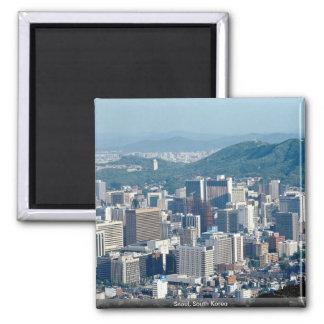 Seoul South Korea Refrigerator Magnet